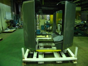 小型マシニング機械用カバー