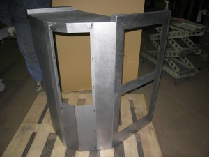 大型旋盤機械用カバー