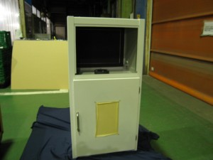 超音波試験機フレーム